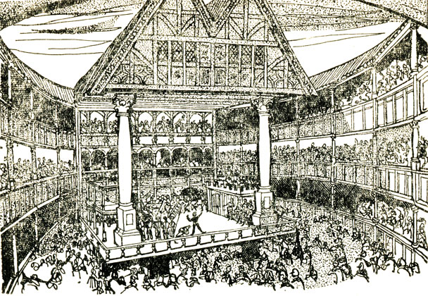 Театр глобус шекспира картинки
