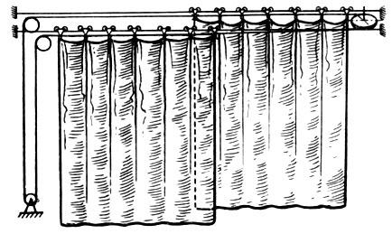 Ворота штора своими руками схема из труб 63
